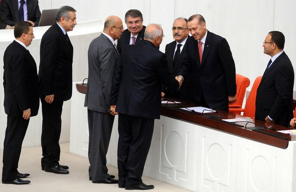 Başbakan Meclis Genel Kurulu'nda
