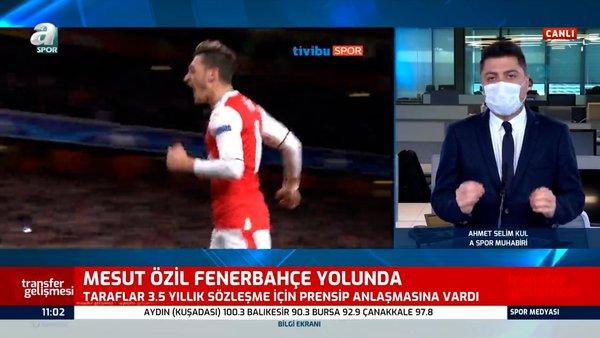 SON DAKİKA! Fenerbahçe'den bomba transfer atağı! Mesut Özil Fenerbahçe yolunda   Video