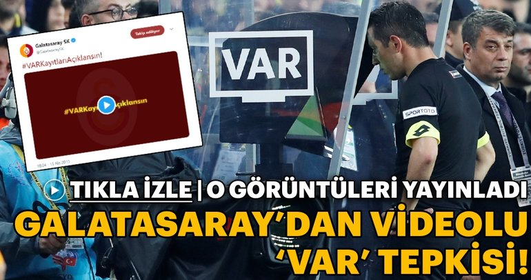 Galatasarayev VAR answer! He uploaded pictures