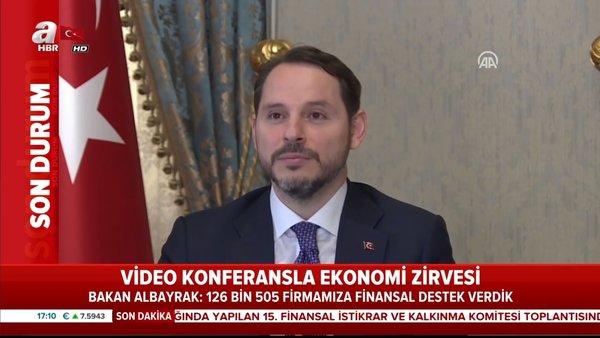 Son dakika:  Bakan Albayrak'tan 15.Finansal İstikrarve Kalkınma Komitesi toplantısında önemli açıklamalar | Video