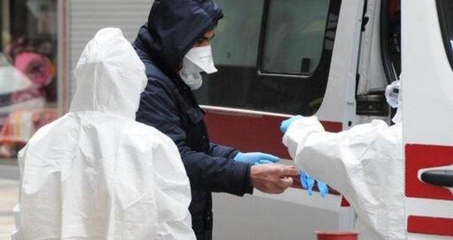 Koronavirüs olabileceği şüphesiyle polisi aradı, hastaneye kaldırıldı