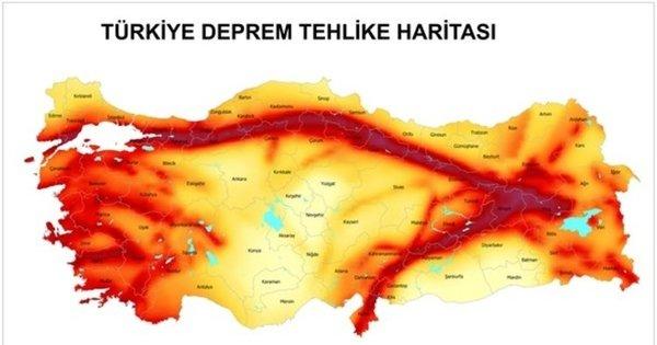 Türkiye deprem haritası 2020: Türkiye'de deprem riski en az ve en çok olan iller nerede, hangi bölgede?
