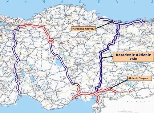 Karadeniz'i Akdeniz'e bağlayacak projede sona gelindi