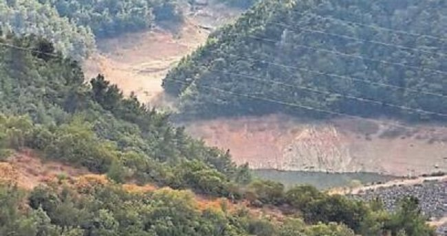 Barajlarda su oranı ciddi ölçüde azaldı