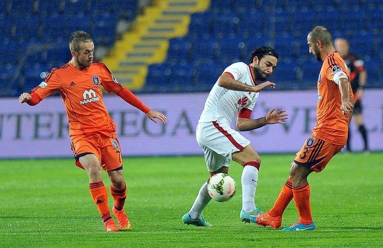 İ. Başakşehir-Galatasaray maçından kareler