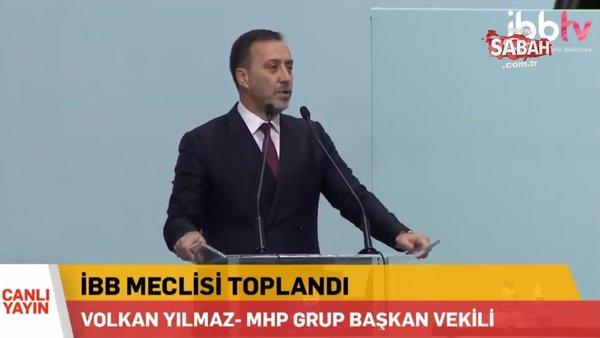 MHP Grup Başkanvekili Volkan Yılmaz: