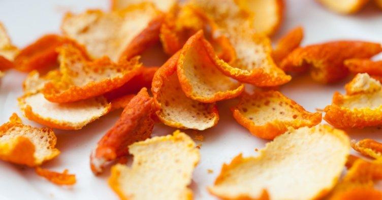 Portakal kabuğu tozu tarifi...