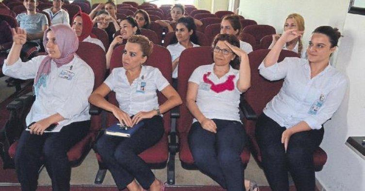 Çalışanlara işaret dili eğitimi