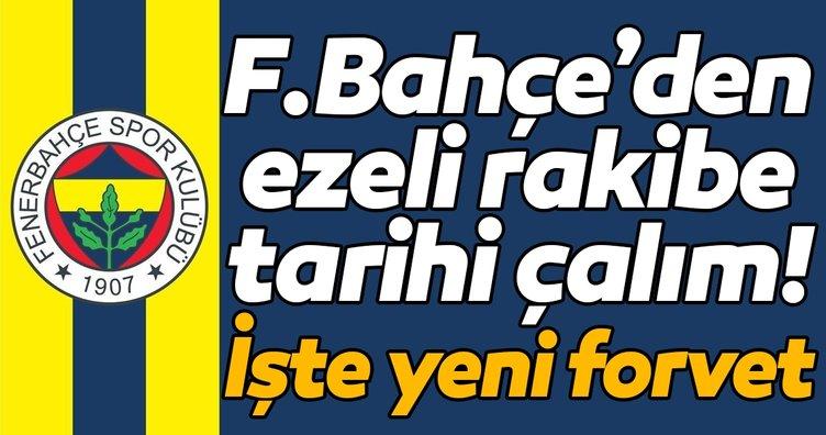 Fenerbahçe'den Beşiktaş'a tarihi çalım! İşte yeni forvet