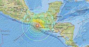 Meksika'da 8.1 büyüklüğünde deprem! 6 ülke sallandı