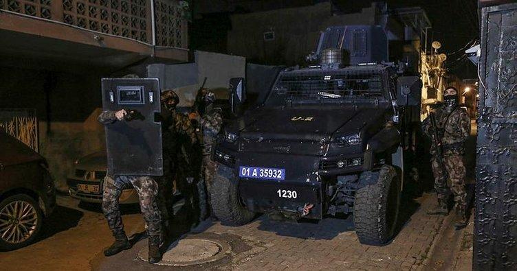 Adana merkezli terör operasyonu ile ilgili görsel sonucu