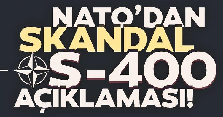 Son Dakika: NATO'dan skandal S-400 açıklaması!