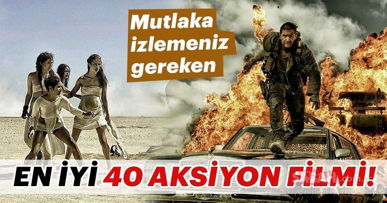 Mutlaka izlenmesi gereken en iyi 40 aksiyon filmi nelerdir? İşte en iyi 40 aksiyon filmi...