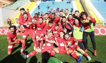 Antalyaspor koşar adım zirveye!