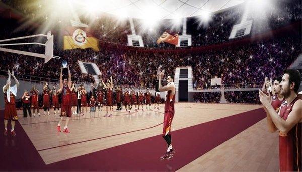 Galatasaray'ın yeni mekanı