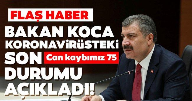 Türkiye'deki korona virüs sayıları - 26 Mart