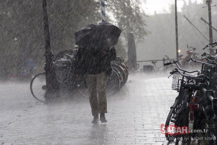 Meteoroloji'den son dakika hava durumu raporu: Marmara Bölgesi için kuvvetli yağış uyarısı! 20 Ekim 2020 bugün hava nasıl olacak?