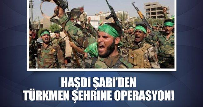 Haşdi Şabi, Telafer'e operasyon başlattı