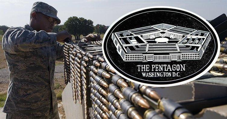 Pentagon teröristler için 2019 bütçesinden silah istedi