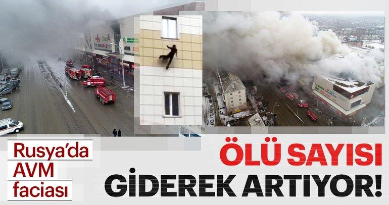 Rusya'da AVM'de yangın