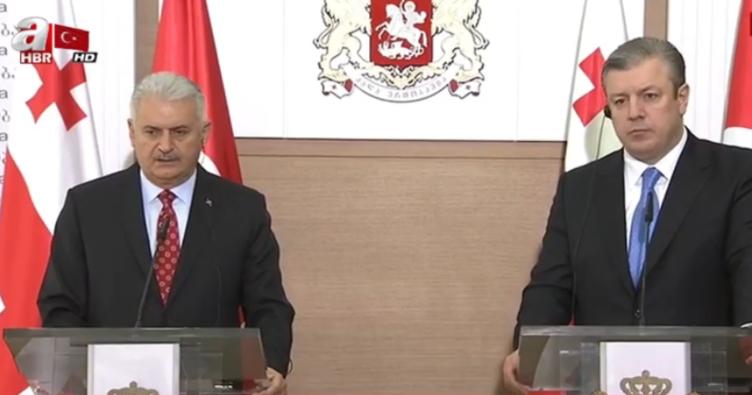 Başbakan Binali Yıldırım Gürcistan'da