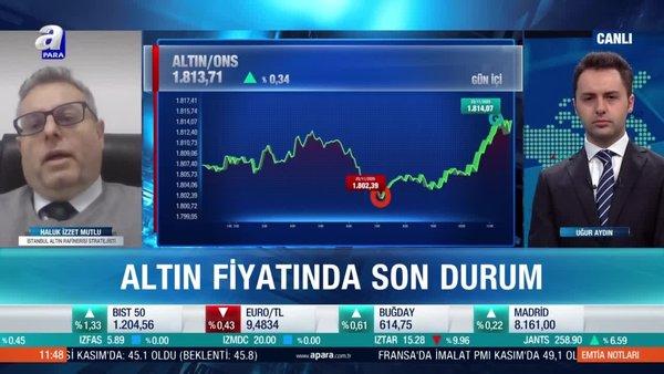 İstanbul Altın Rafinerisi Stratejisti Haluk İzzet Mutlu: Altında 2300 dolar üzeri beklentiler kırıldı