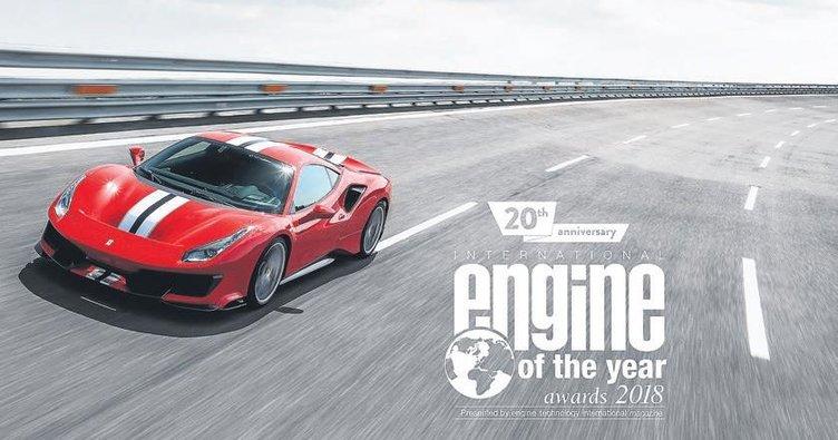 20 yılın 'en iyi motoru' ödülü Ferrari'nin