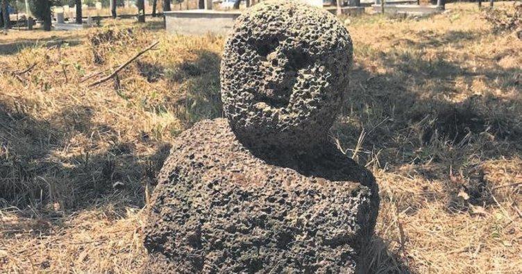 Eskişehir'de eski Türkler'e ait heykel bulundu