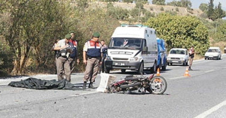 Bozdoğan'da trafik kazası, 1 ölü