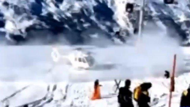 Schumacher'in kaza geçirdiği yerin fotoğrafları