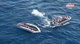 MSB, Libya açıklarındaki arama-kurtarma çalışmalarına katıldı | Video