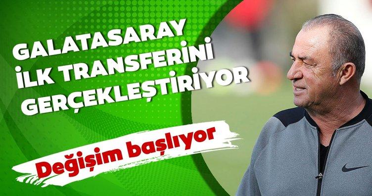 Galatasaray'da değişim başlıyor! İşte ilk transfer