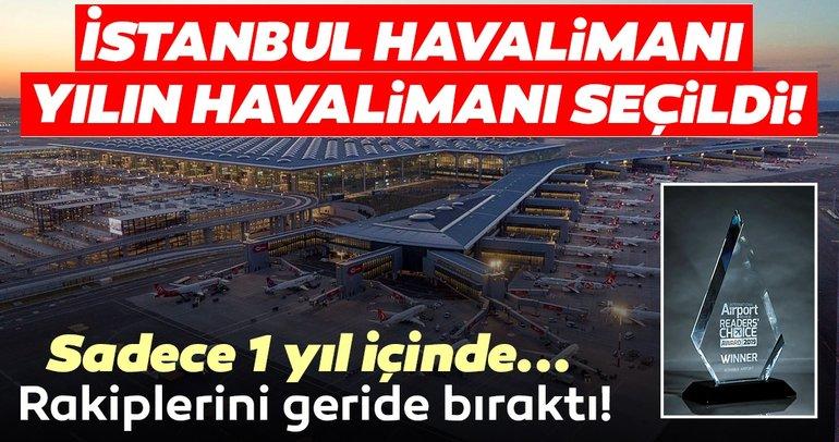 İstanbul Havalimanı'na Yılın Havalimanı ödülü verildi