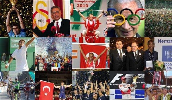 Sporda yılın olayları
