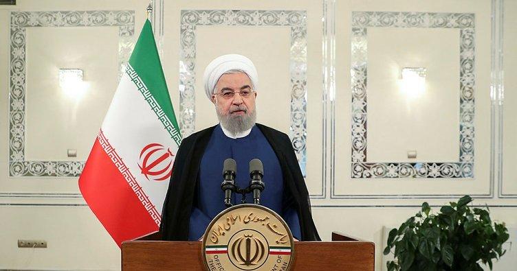 Ruhani'den flaş açıklama!  ABD, İran ile ekonomik savaşa girdi