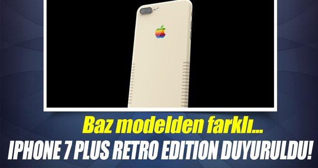iPhone 7 Plus Retro Edition duyuruldu