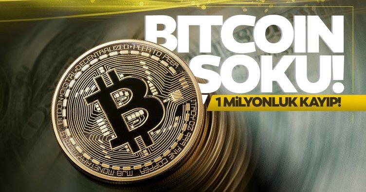 Son dakika | Bitcoin'de 1 milyonluk kayıp!