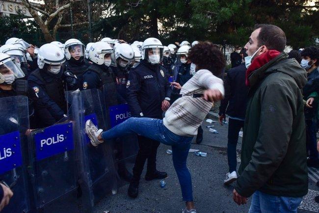 Boğaziçi Üniversitesi'nde tehlikeli provokasyon - Son Dakika Haberler