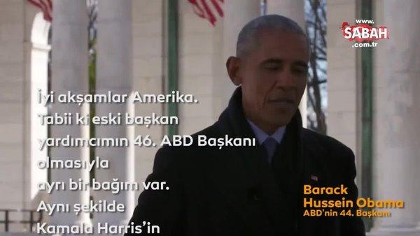 Eski ABD Başkanları; Bush, Clinton ve Obama'dan flaş Joe Biden - Kamala Harris açıklaması   Video