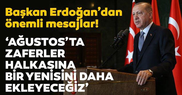 Başkan Erdoğan'dan Kurban Bayramı mesajı!