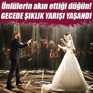 Hezan Özbek ve Gizay Kayar evlendi