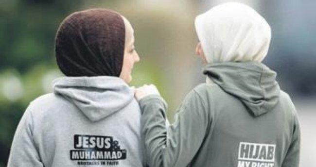 Almanya'da başörtülü kadınlara saldırı