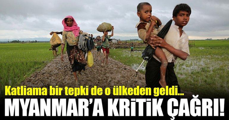 Katar'dan Myanmar hükümetine kritik Arakan çağrısı!