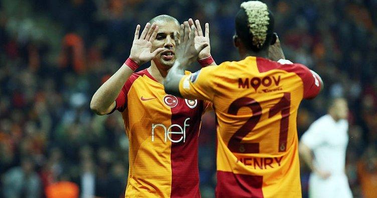 Galatasaray'ın gol yükü orta sahada
