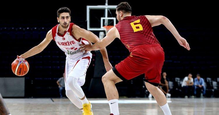 Türkiye Milli Basketbol Takımı, Galatasaray karşısında rahat