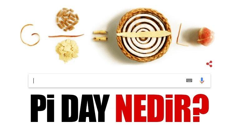 Google'dan Pi Day ile ilgili renkli ana sayfa! - 14 Mat Pi Day Günü nedir?