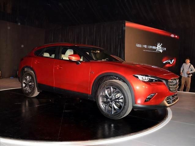 Mazda CX-4 Pekin'de sahneye çıktı