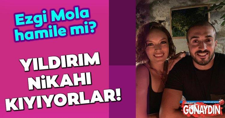 Ezgi Mola ile sevgilisi Mustafa Aksakallı nikah masasına oturuyor