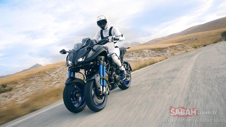 Üç tekerlekli motor Yamaha NIKEN'in Türkiye fiyatı açıklandı