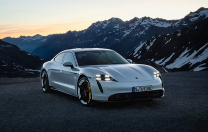 Karşınızda Porsche Taycan